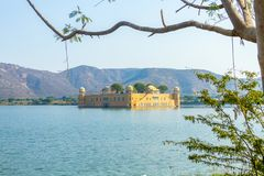 Jal Mahal - Rajasthan. The Jal Mahal Water Palace outside of Jaipur City, Rajasthan, India Stock Images