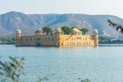 Jal Mahal - Rajasthan. The Jal Mahal Water Palace outside of Jaipur City, Rajasthan, India Royalty Free Stock Photo