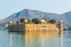 Jal Mahal - Rajasthan. The Jal Mahal Water Palace outside of Jaipur City, Rajasthan, India Royalty Free Stock Photography