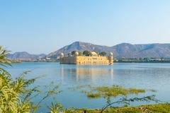 Jal Mahal - Rajasthan. The Jal Mahal Water Palace outside of Jaipur City, Rajasthan, India Stock Image