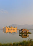 Jal mahal water palace rajasthan 2. Portrait view of the jal mahal water palace in jaipur,rajasthan,india Stock Images