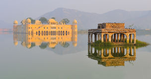 Jal mahal water palace,rajasthan 2 Stock Images