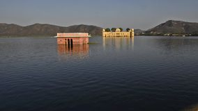 Jal Mahal, Water Temple. stock video footage