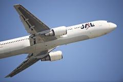 JAL Passenger Aircraft Fotografia de Stock Royalty Free
