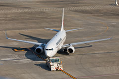 JAL Taxing Stock Photos