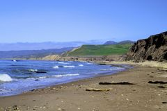 Jalama Beach Lompoc California Royalty Free Stock Photo