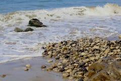 Jalama strand Lompoc Kalifornien arkivfoton