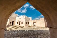 Jalan Bani Bu Hassan Fort Royalty Free Stock Image