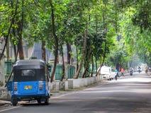 Jalan Cut Nyak Dien. In Menteng, Jakarta Royalty Free Stock Images