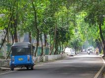 Jalan Cut Nyak Dien. In Menteng, Jakarta Royalty Free Stock Image