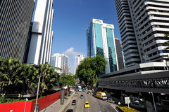 Jalan Raja Chulan, Kuala Lumpur, Malaysia. Royalty Free Stock Image