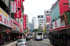 Jalan Tuanku阿卜杜勒拉赫曼,吉隆坡 库存图片