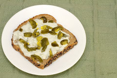 Jalapeno Cheese Bread Stock Images