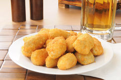 Jalapeno and cheese poppers Royalty Free Stock Images