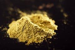 Jalapeno Green Chilli Powder Stock Photography