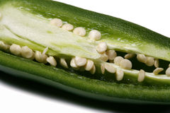 Jalapeno Guts Royalty Free Stock Photos