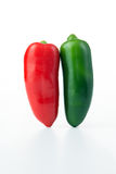 Jalapeno hot pepper Stock Image