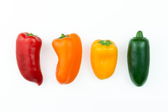Jalapeno hot pepper Stock Photos