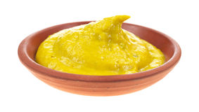 Jalapeno mustard in small dish Royalty Free Stock Images