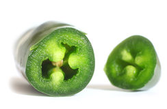 Jalapeno pepper Royalty Free Stock Photos