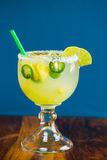 Jalapeno Pepper Margarita stock photography