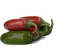 Jalapeno Peppers Royalty Free Stock Photo