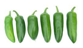 Jalapeno Peppers Royalty Free Stock Image