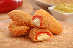 Jalapeno poppers Royalty Free Stock Images