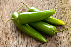 Jalapenos Chili Peppers Stock Image
