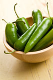 Jalapenos Chili Peppers Royalty Free Stock Image