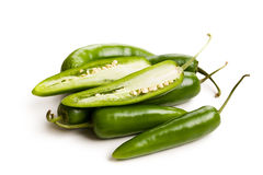Jalapenos Chili Peppers Royalty Free Stock Photo