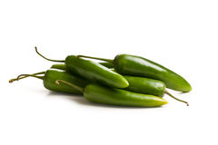 Jalapenos Chili Peppers Royalty Free Stock Photos