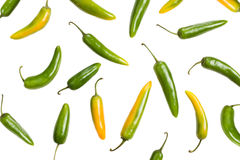 Jalapenos Chili Peppers Royalty Free Stock Photography