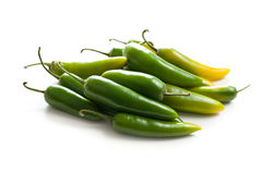 Jalapenos Chili Peppers Royalty Free Stock Images