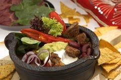 Jalapenos cuits du boeuf W Photo libre de droits