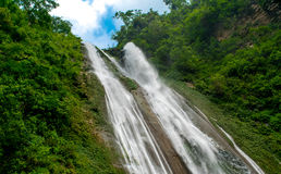 Jalbire Falls of Nepal Energetic one Stock Images