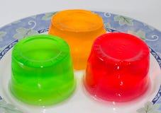 Jalea colorida Imagen de archivo libre de regalías