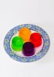Jalea colorida Imágenes de archivo libres de regalías