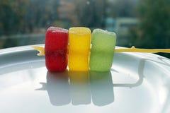 Jalea de fruta escarchada Imagenes de archivo