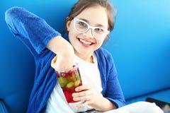Jalea de fruta, postre colorido para los niños Fotografía de archivo libre de regalías