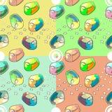 Jalea del caramelo Foto de archivo