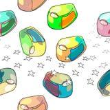 Jalea del caramelo Imagenes de archivo