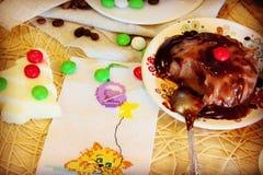 Jalea del chocolate Foto de archivo