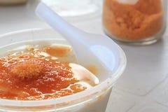 Jalea del queso de soja foto de archivo libre de regalías