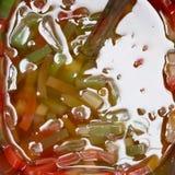 Jalea del té de la burbuja Foto de archivo libre de regalías