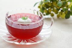 Jalea del té del hibisco Imagen de archivo