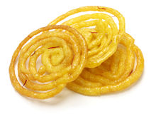 Jalebi indian sweet Royalty Free Stock Photos