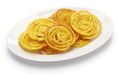 Jalebi indian sweet Stock Photo