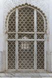 Jali screen of Bibi Ka Maqbara. Bibi Ka Maqbara is a maqbara located in Aurangabad, Maharashtra, India. It was built by Azam Shah, son of Aurangzeb, in 1678 in Stock Photos