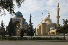 Jalil哈亚特清真寺在阿尔贝拉–伊拉克 库存照片